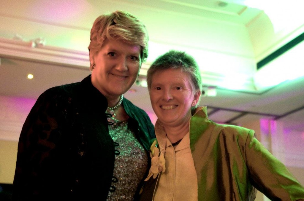 Barbara and Clare Balding at the First Women Awards